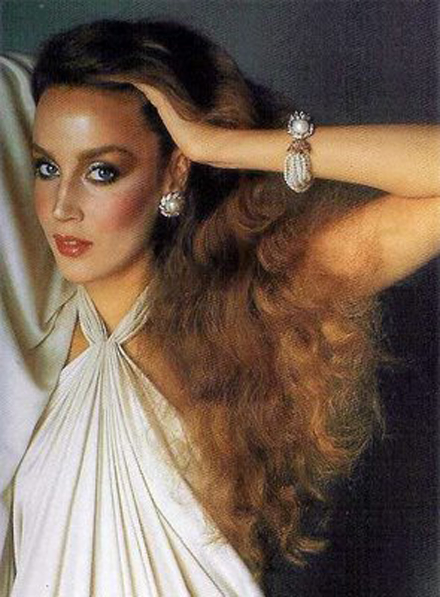 These images of jerry hall in all her 70 s and early 80 s glory