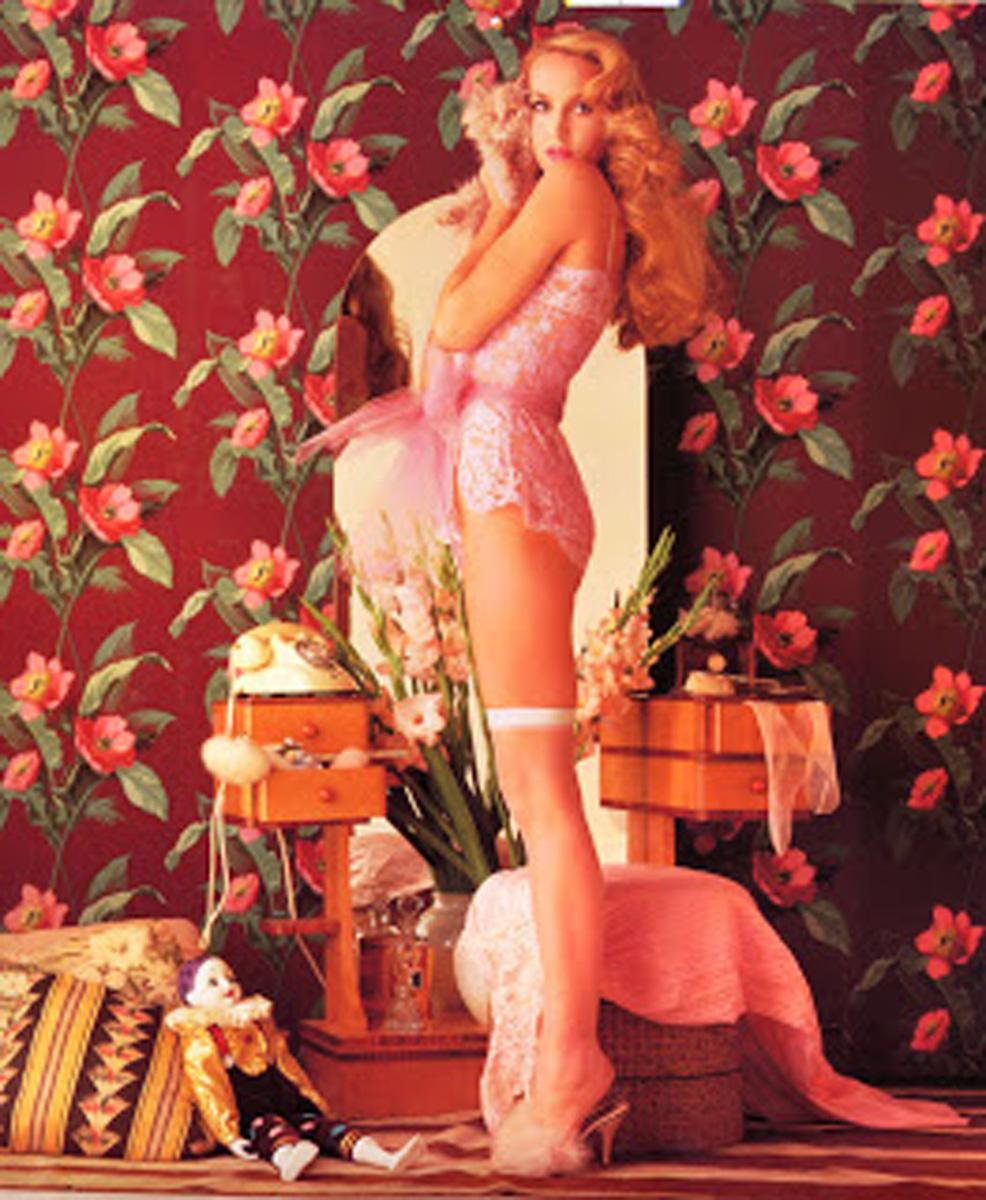70's Inspiration: Jerry Hall