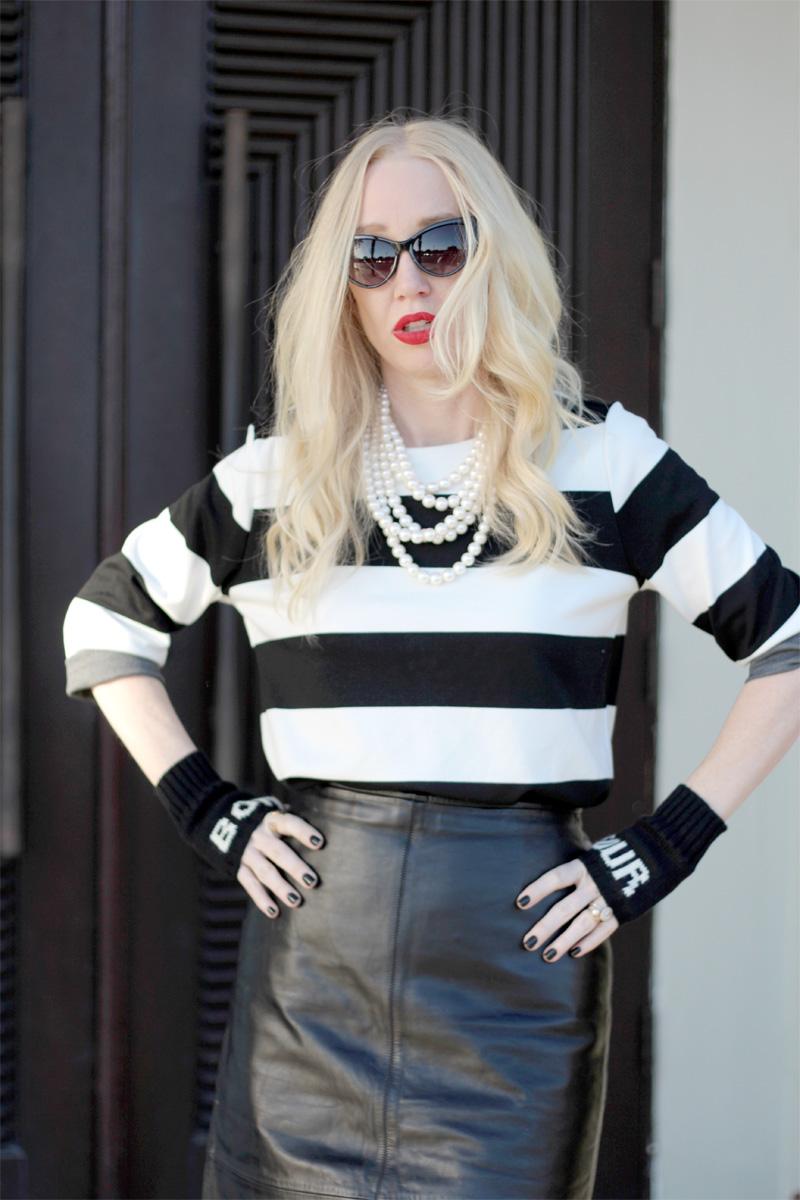 Zerouv, Forever 21 dress, Old Navy skirt, Zara heels