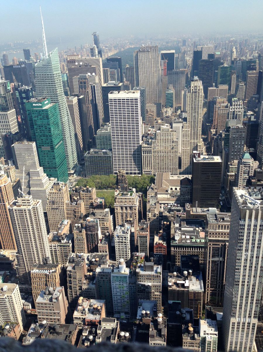 empire state building, nyc, view