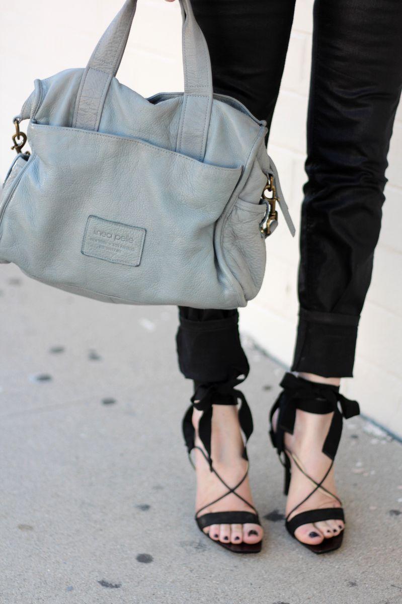 linea pelle, linea pelle venice tote, vintage gucci sandals