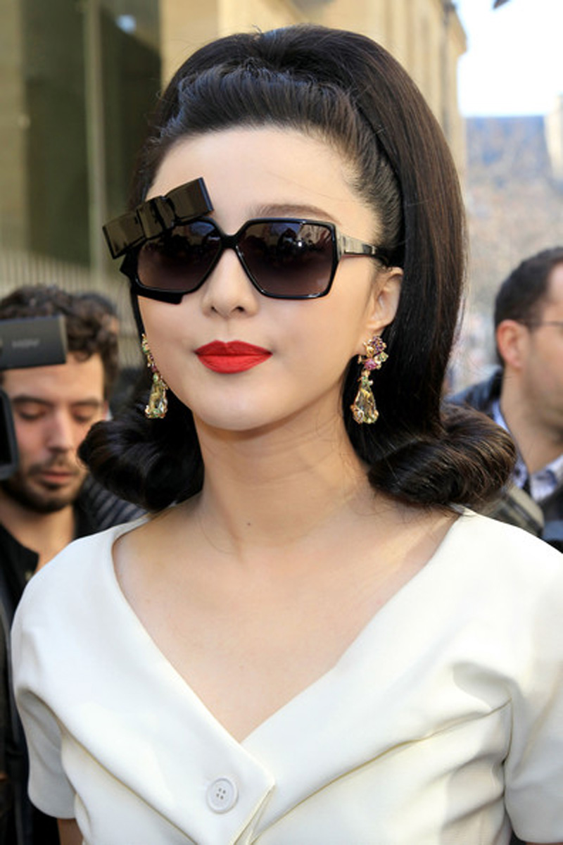 Fan Bingbing, Fan Bingbing lipstick, Fan Bingbing sunglasses, currently crushing