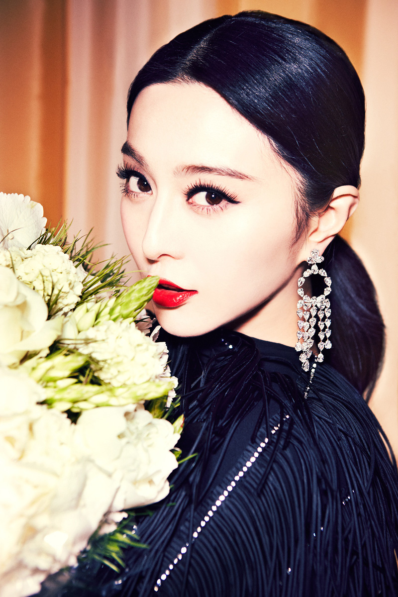 Fan Bingbing, Fan Bingbing red lip, Fan Bingbing lipstick, currently crushing
