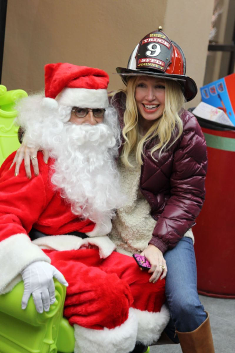 Santa Claus, Currently Crushing, SF Firefighters toy drive,