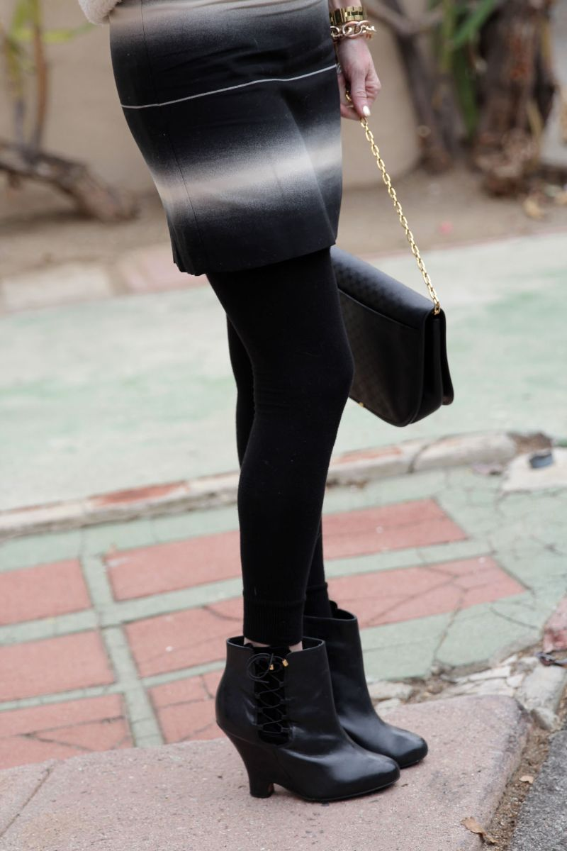 currently crushing, marc jacobs lida skirt, kurt geiger wedge boots, vintage gucci bag