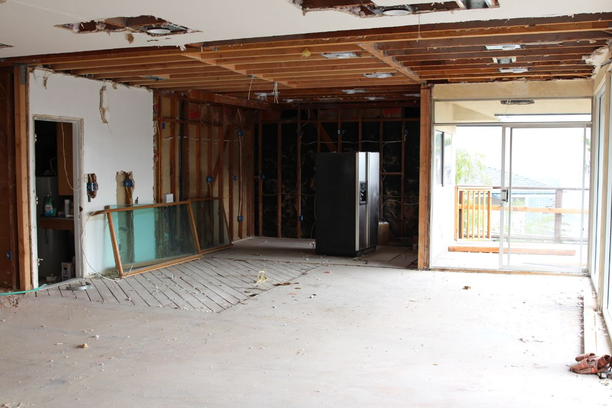 currently crushing, home remodel