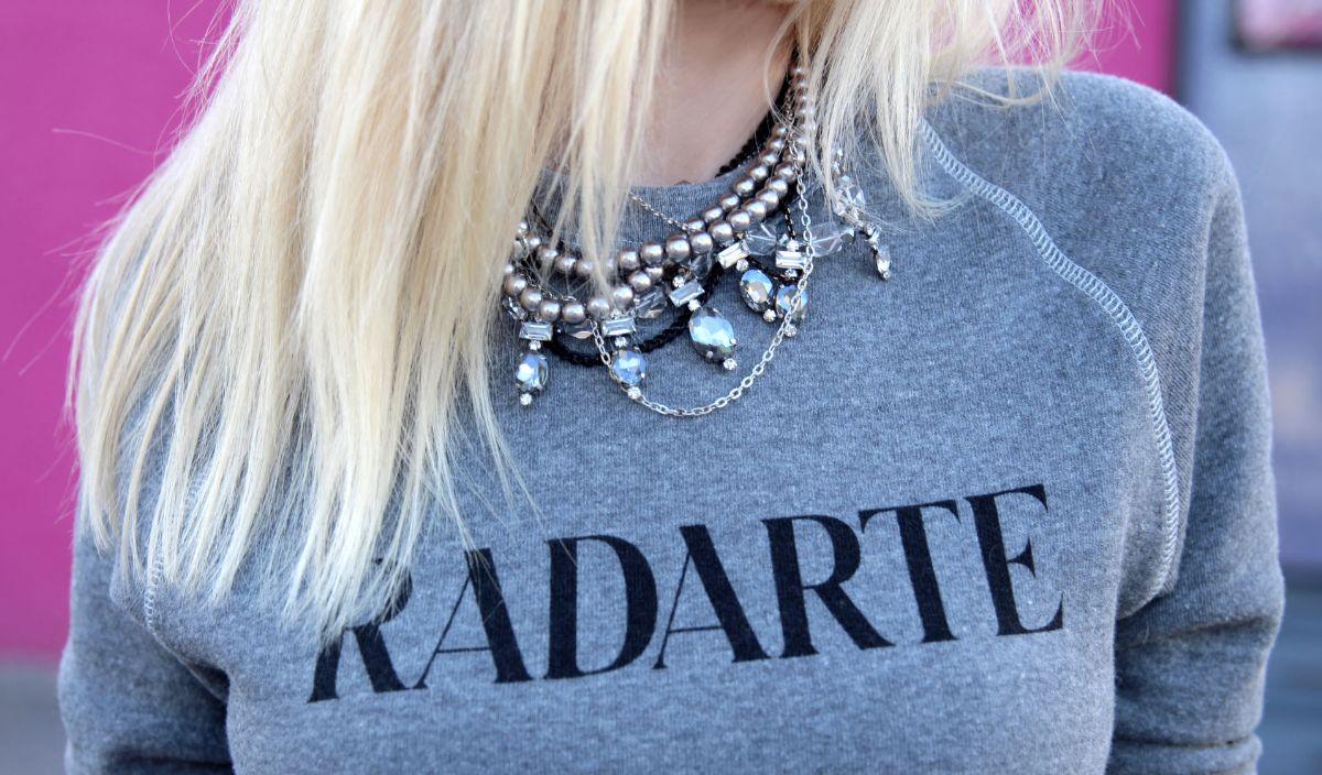 currently crushing, rodarte radarte sweatshirt