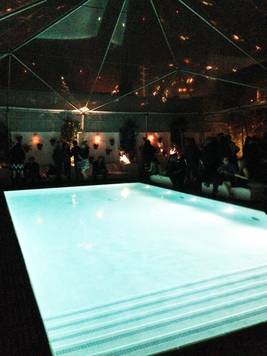 currently crushing, skybar pool