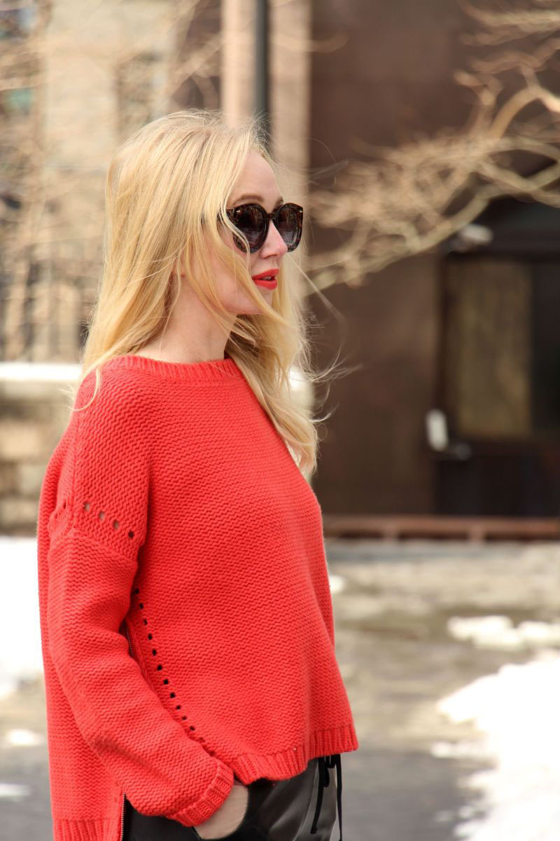currently crushing, elizabeth and james side zip pullover, nyfw