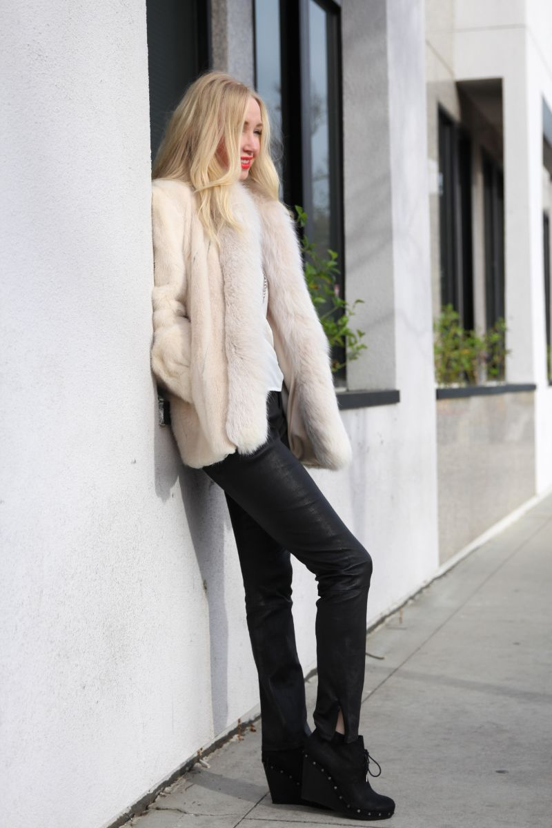 currently crushing, dr scholls aviator wedge boots, j brand minette leather pants