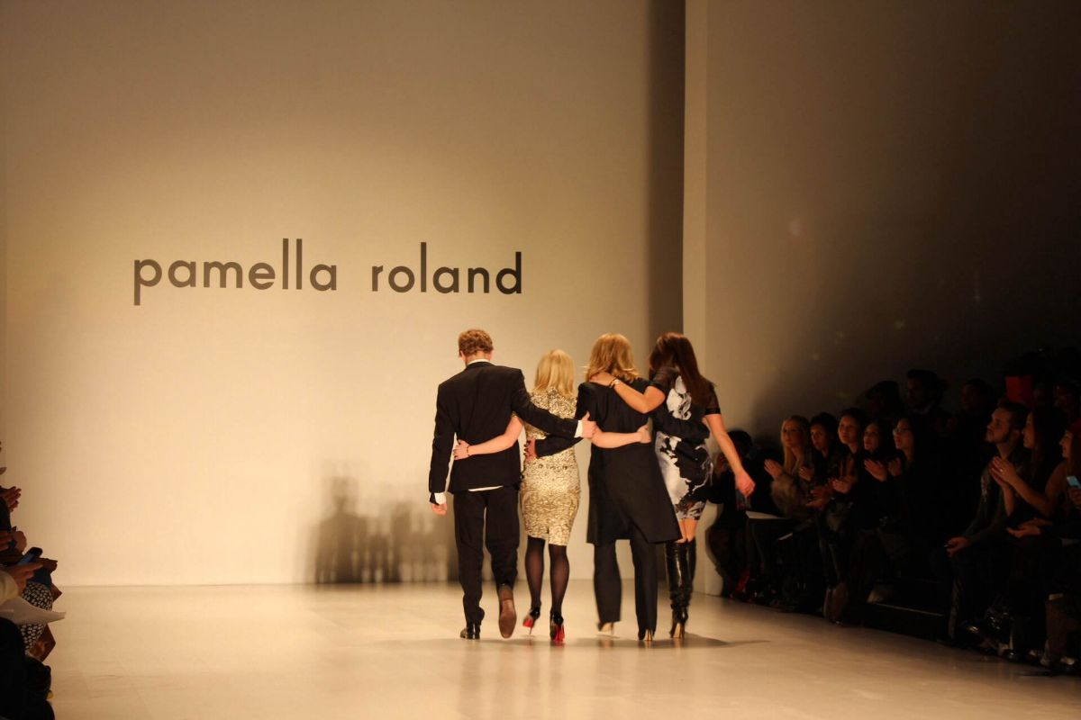 currently crushing, pamella roland fw 2014 nyfw, pamella roland family