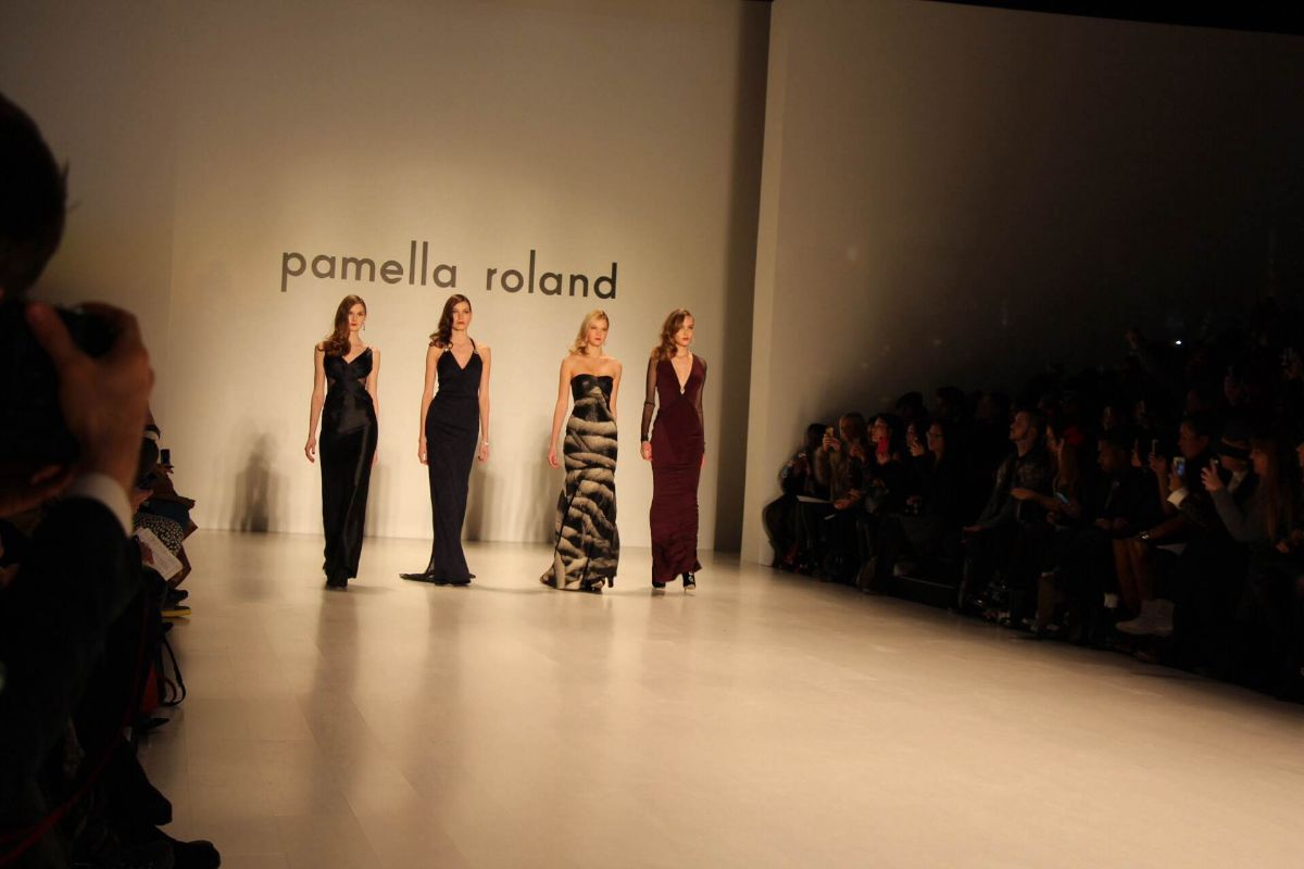 currently crushing, pamella roland fw 2014 nyfw