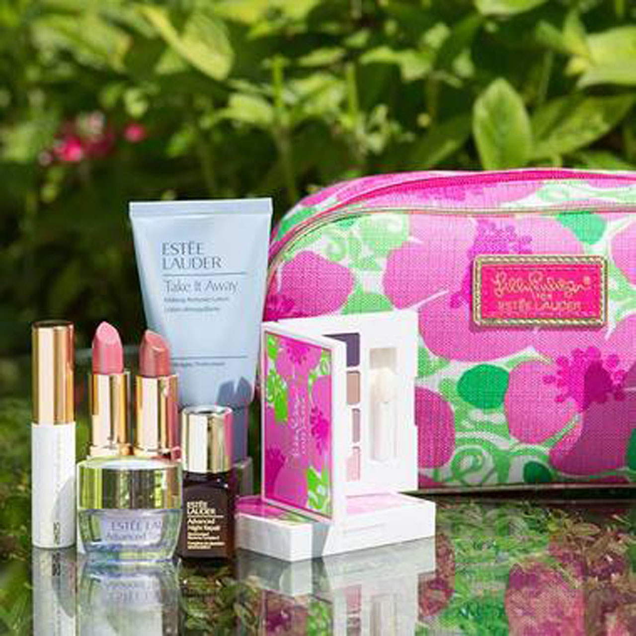 currently crushing, estee lauder gift with purchase lily pulitzer macy's