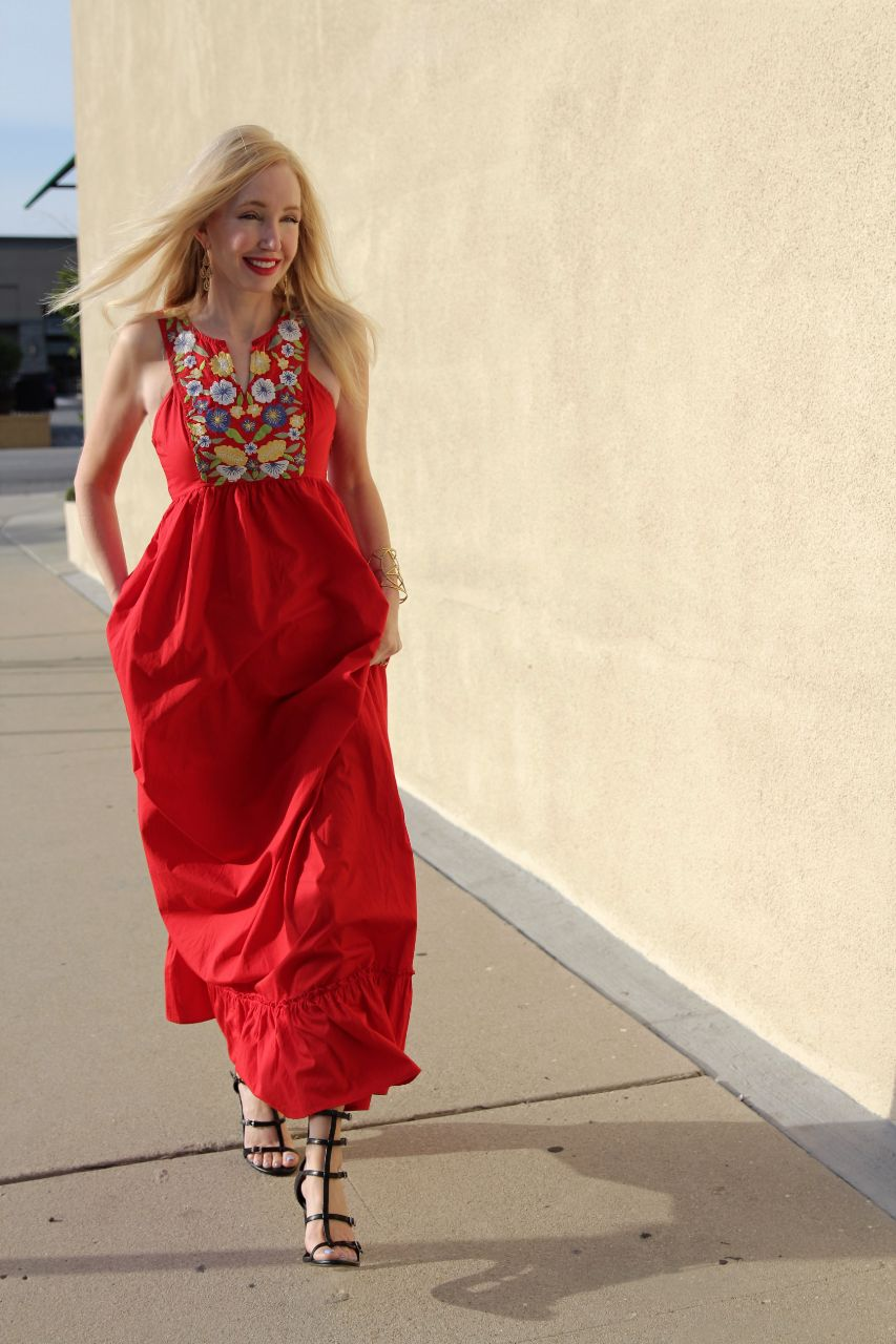 currently crushing, eshakti red dress, bcbgeneration manci heels