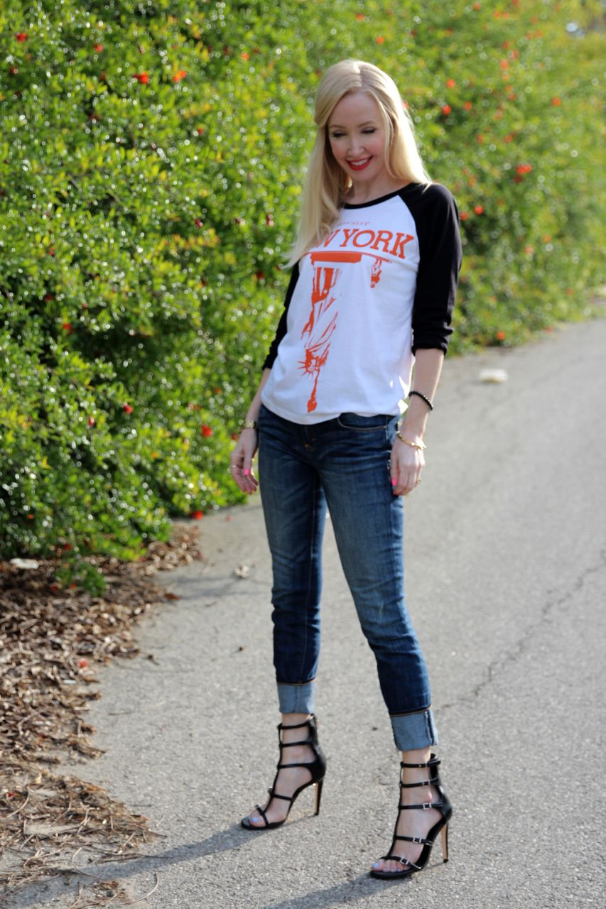 currently crushing, happiness tee, bcbgeneration manci sandals