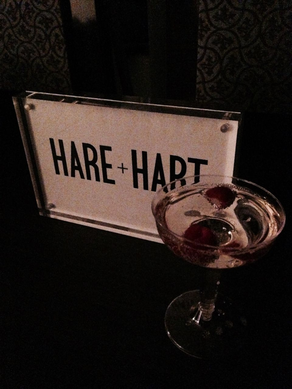 currently crushing, hare and hart