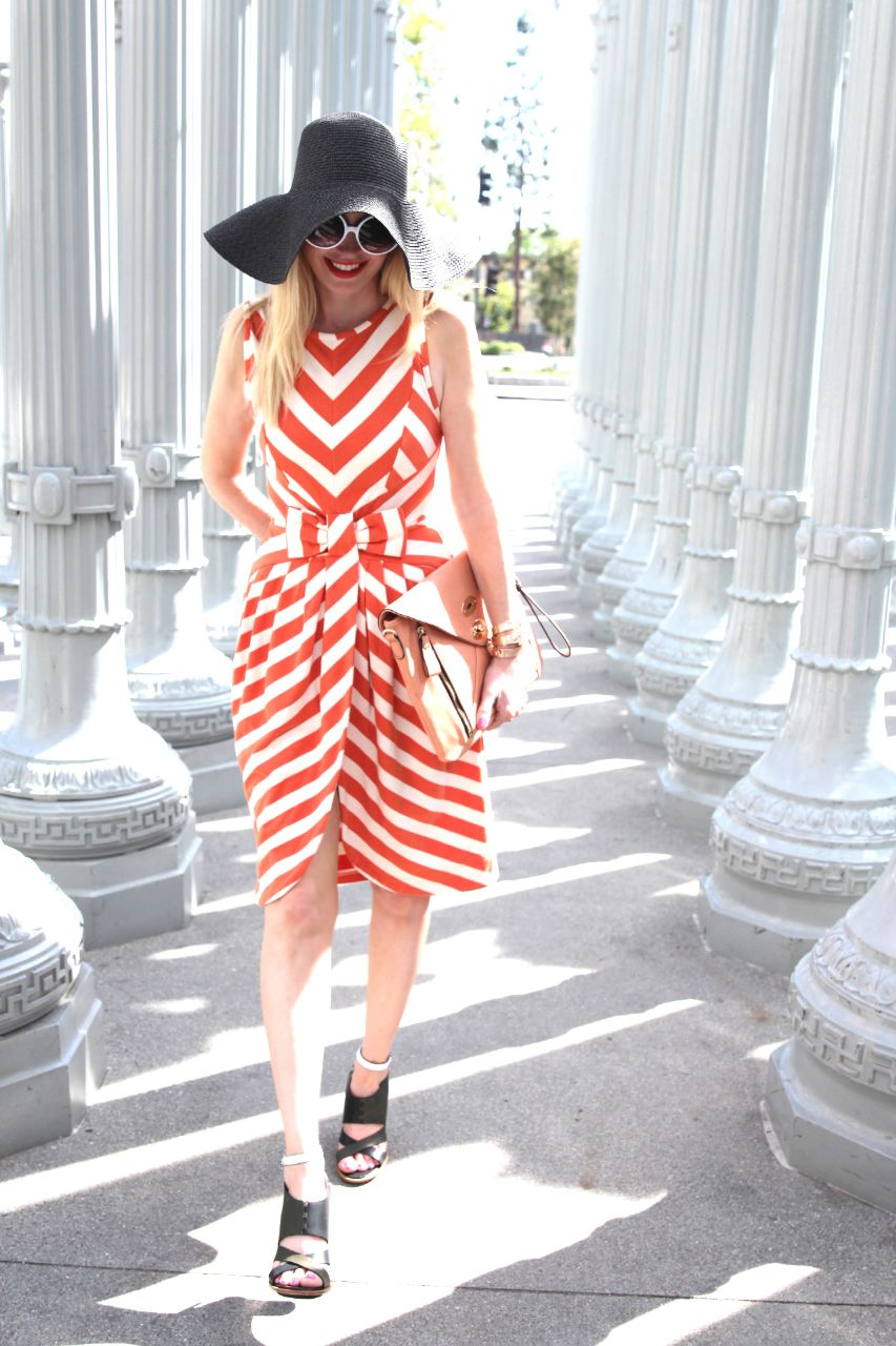 dear creatures striped dress, currently crushing
