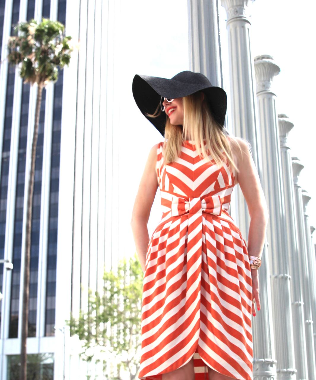 dear creatures striped dress,modcloth, currently crushing