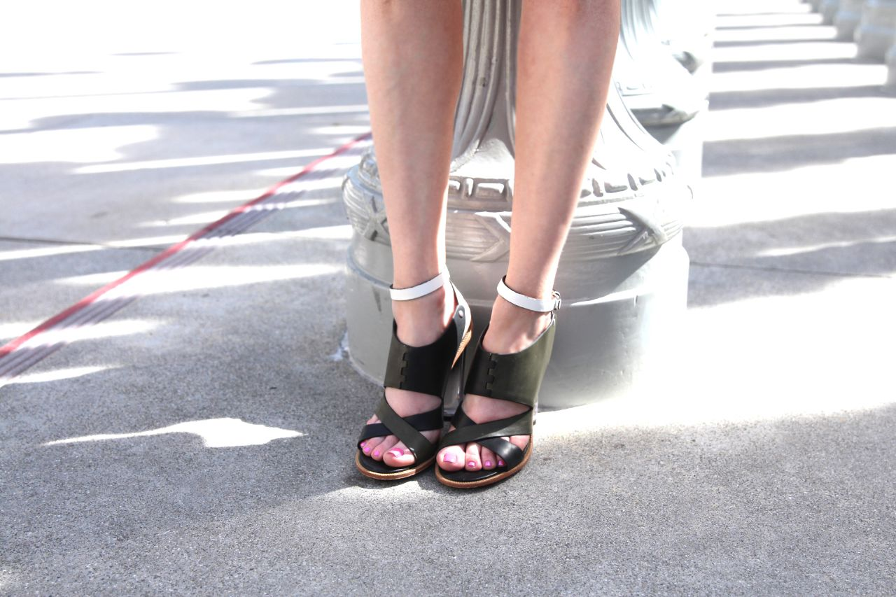 l.a.m.b. luckite heel sandals, currently crushing