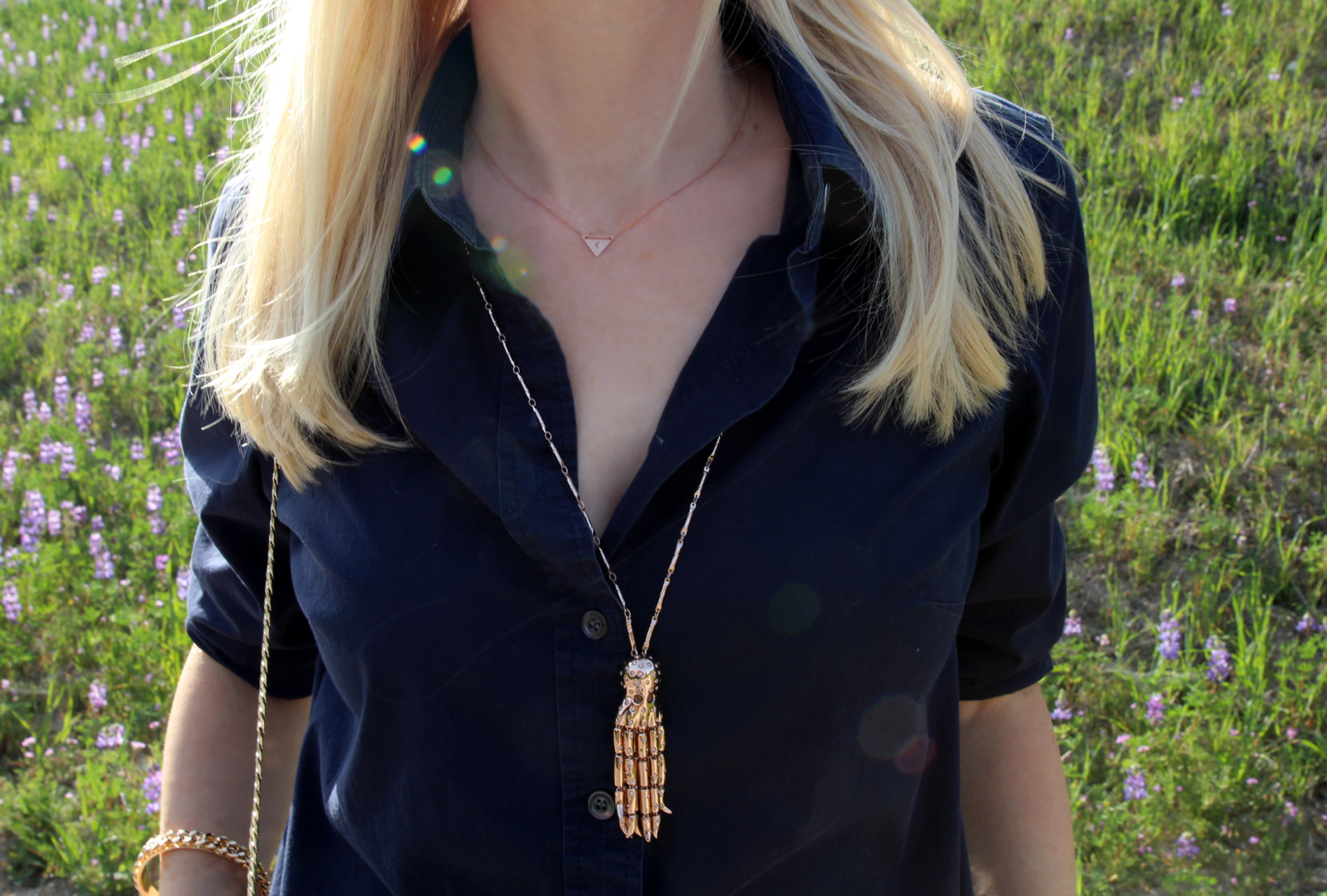 currently crushing, meraki handmade initial necklace, wildfox octopus necklace, chic peek
