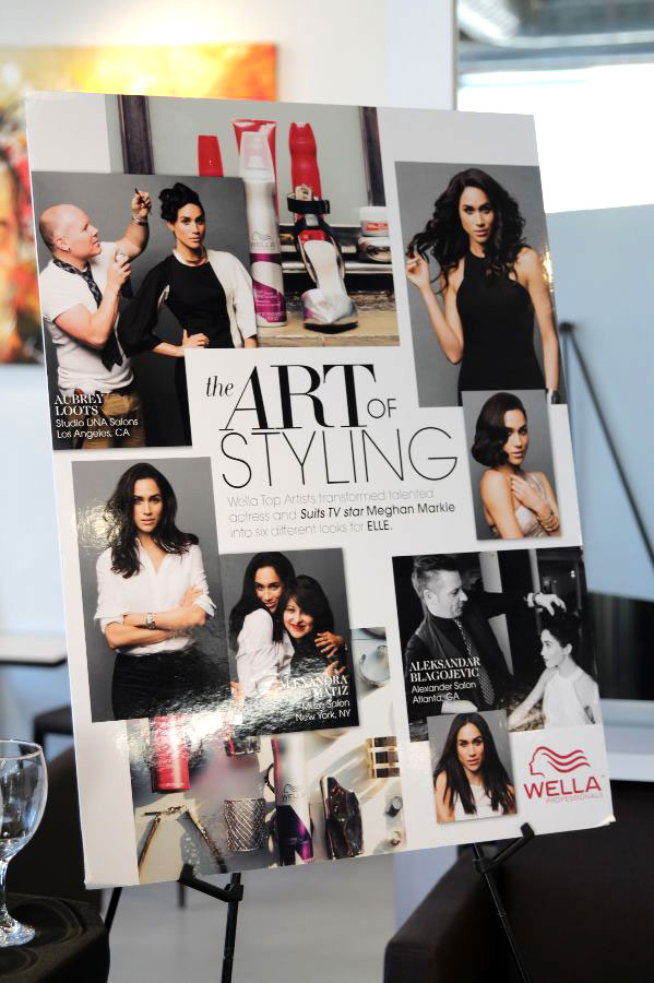 currently crushing, elle magazine, wella hair, butterfly loft event