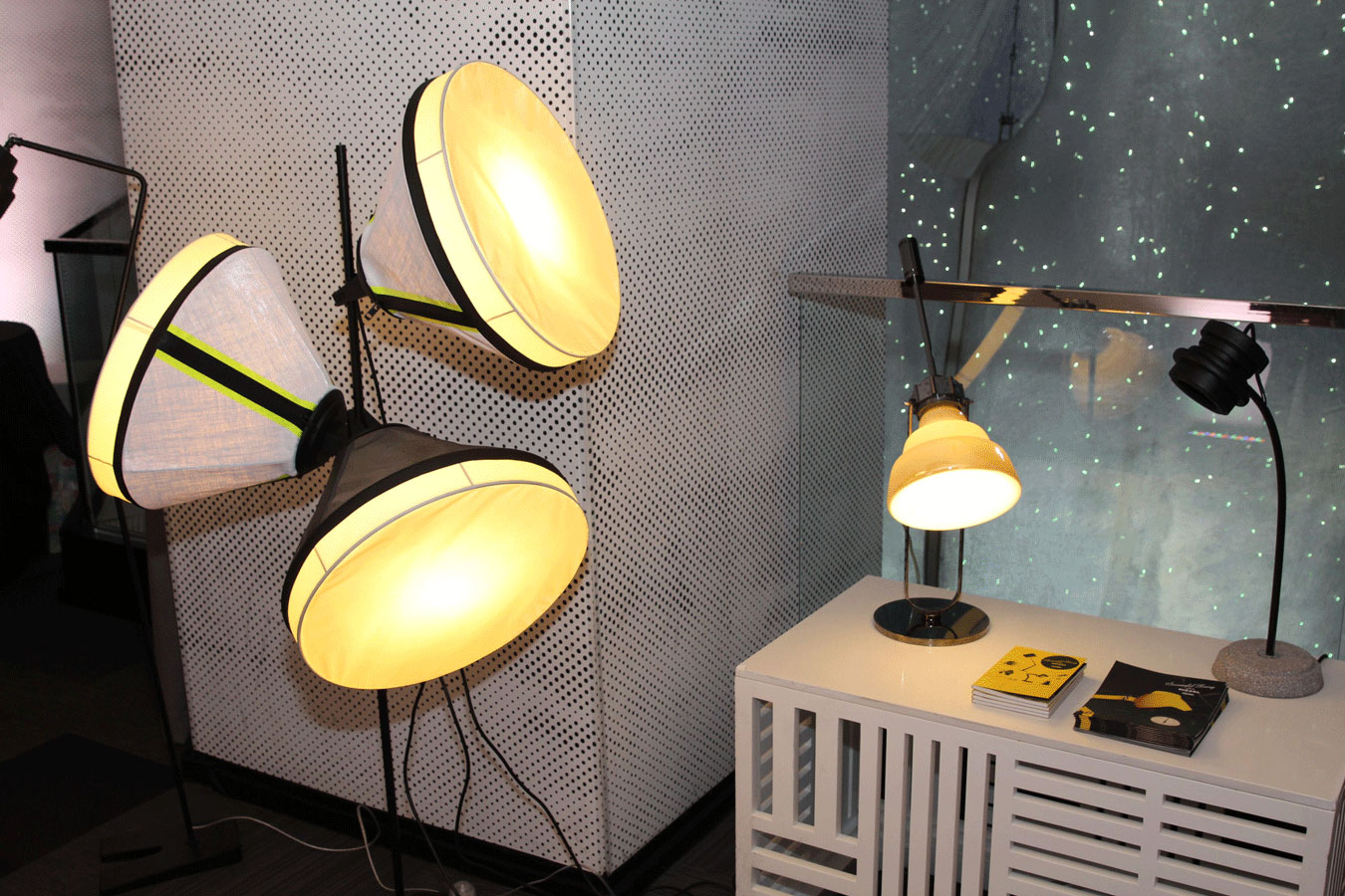 currently crushing, diesel foscarini lights , w san francisco m dot event