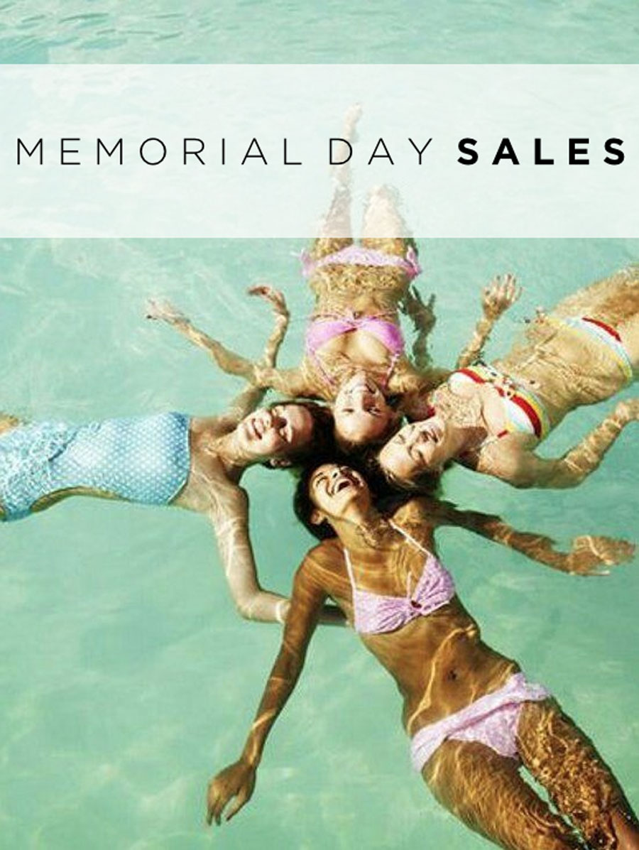 currently crushing memorial day sales