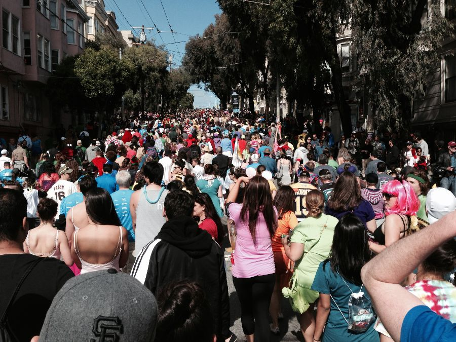 currently crushing, bay to breakers