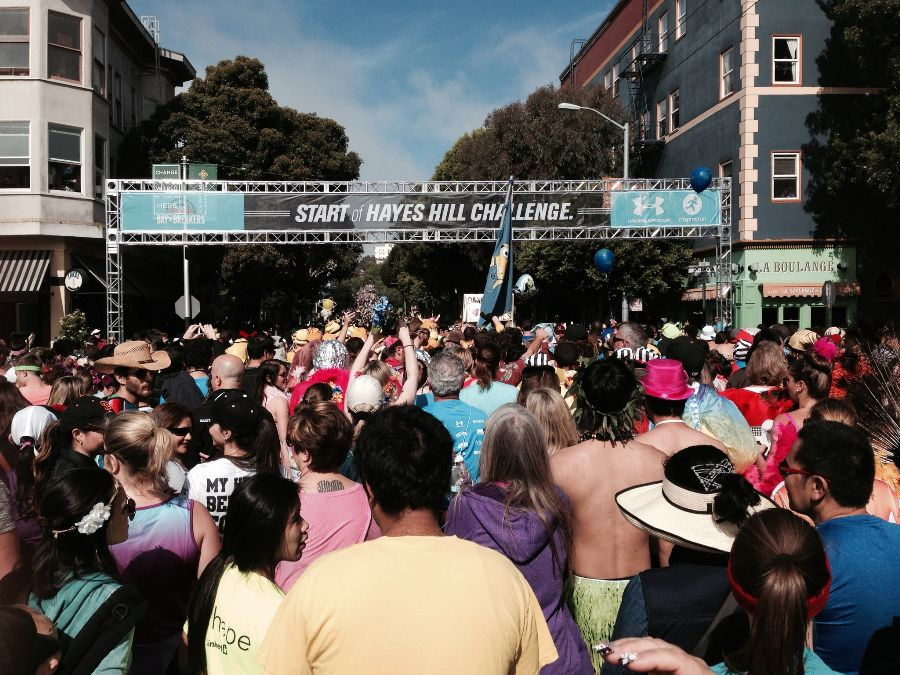 currently crushing bay to breakers