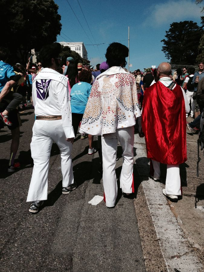 currently crushing elvis's at bay to breakers