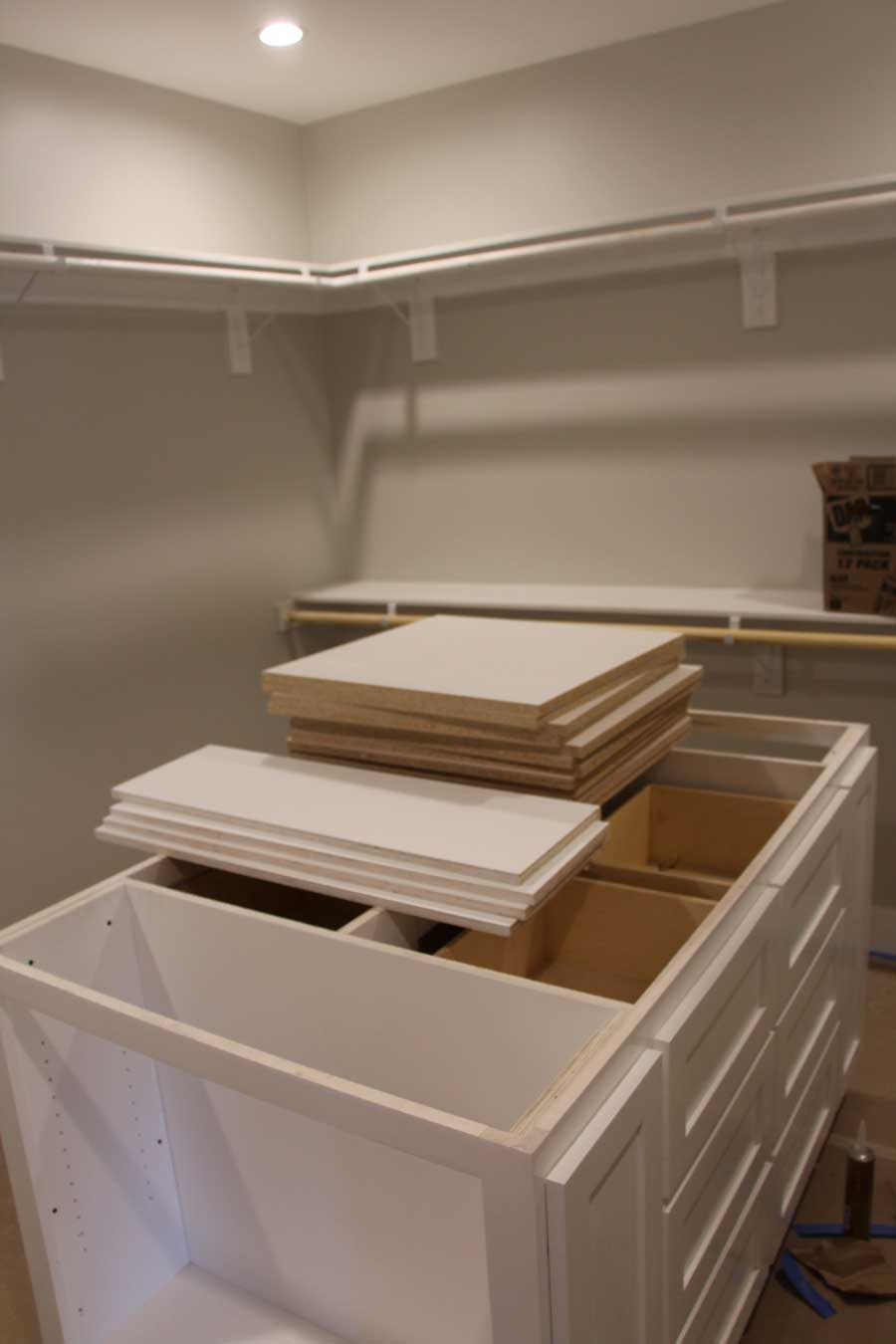currently crushing, home remodel master closet
