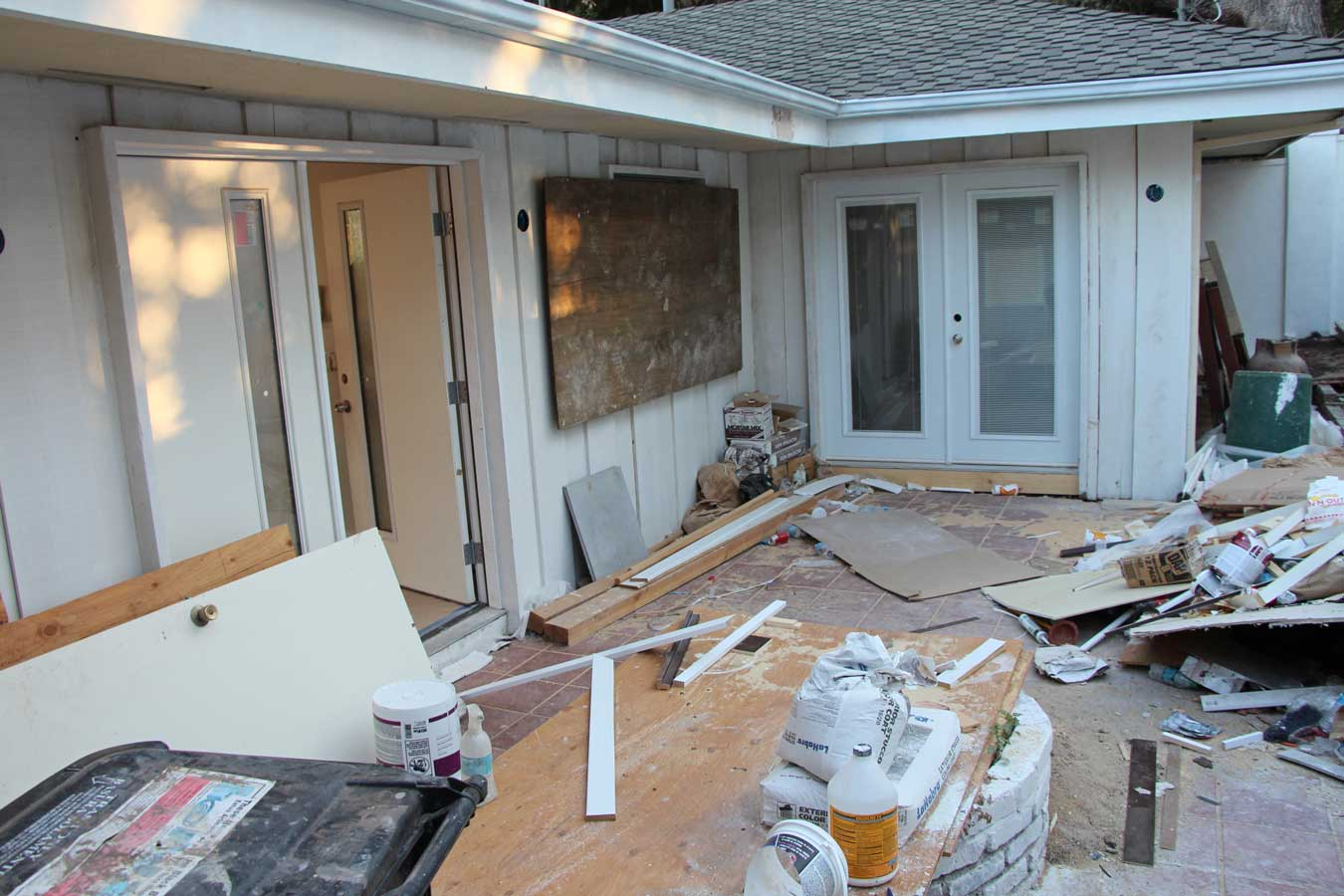 currently crushing, home remodel exterior