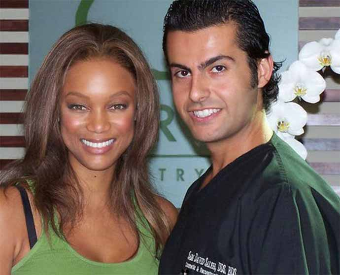 currently crushing, dr sam saleh and tyra banks