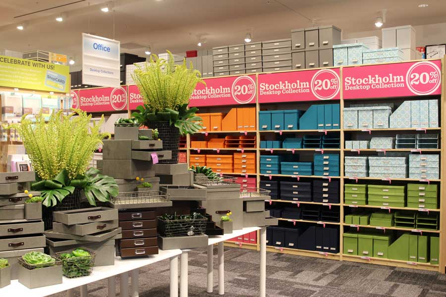 Grand opening of the container store at farmers market currently crushing - Container store home office ...