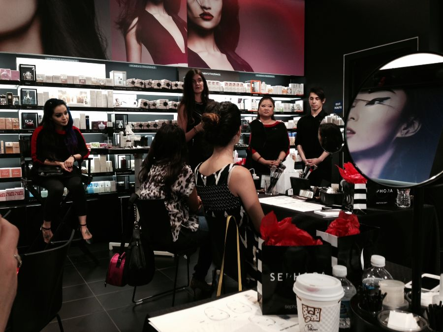 Sephora makeup classes