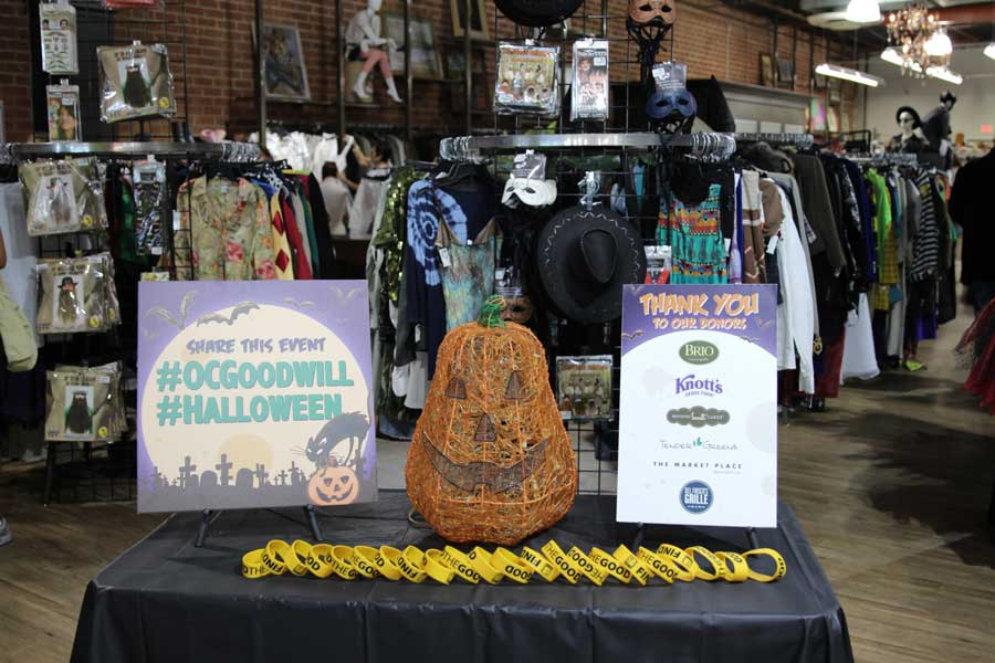 currently crushing Goodwill of orange county halloween haunting event
