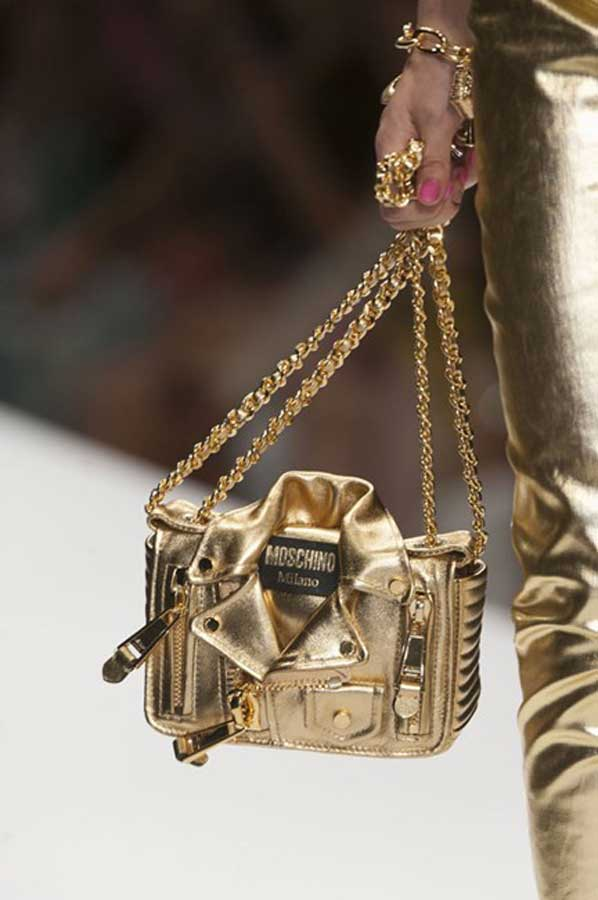 currently crushing moschino bag ss15