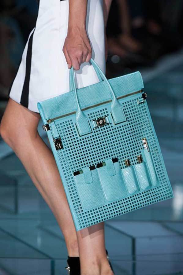 currently crushing versace bag ss15
