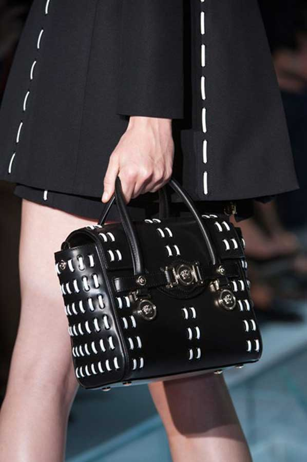 currently crushing, versace bag ss15