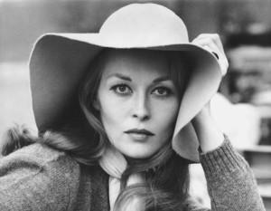 Faye Dunaway Hat