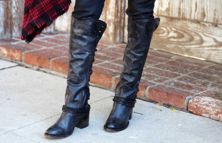 currently crushing, zappos boho chic fall style, freebird boots, paige denim