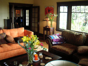 Transisional style home decor