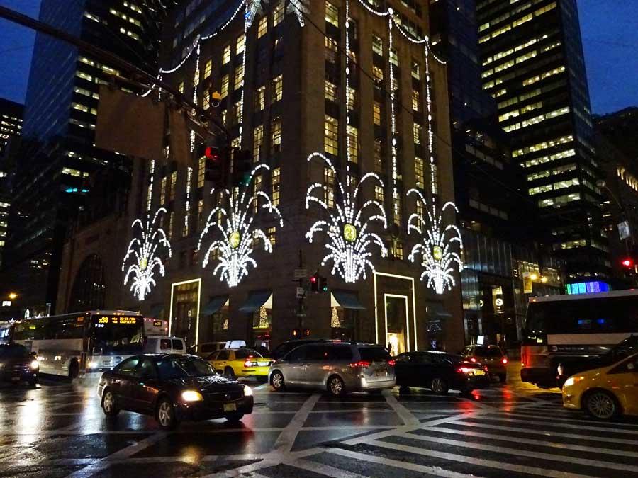 Tiffanys Christmas display