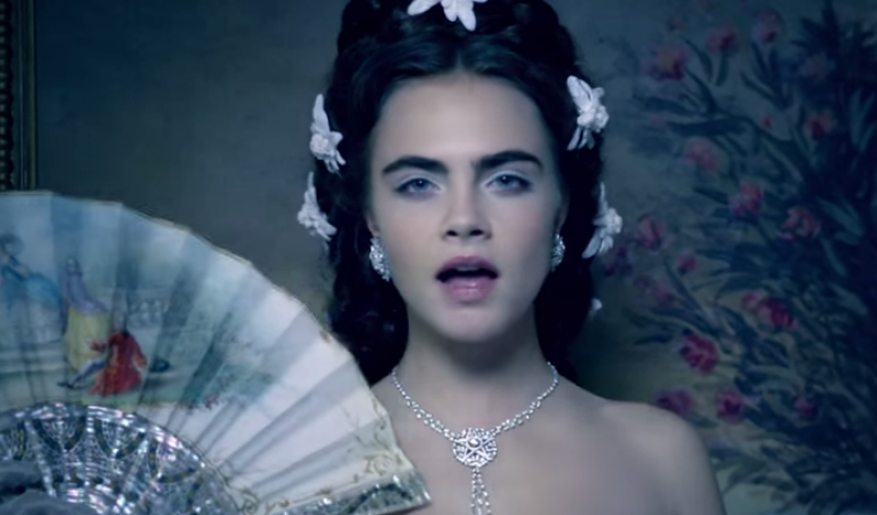 currently crushing, cara delevingne lagerfeld film chanel