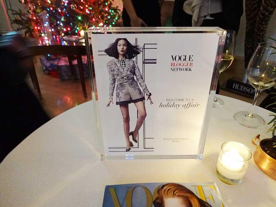 Vogue blogger network