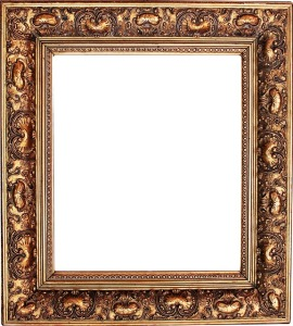 Baroque Picture Frame Home Decor