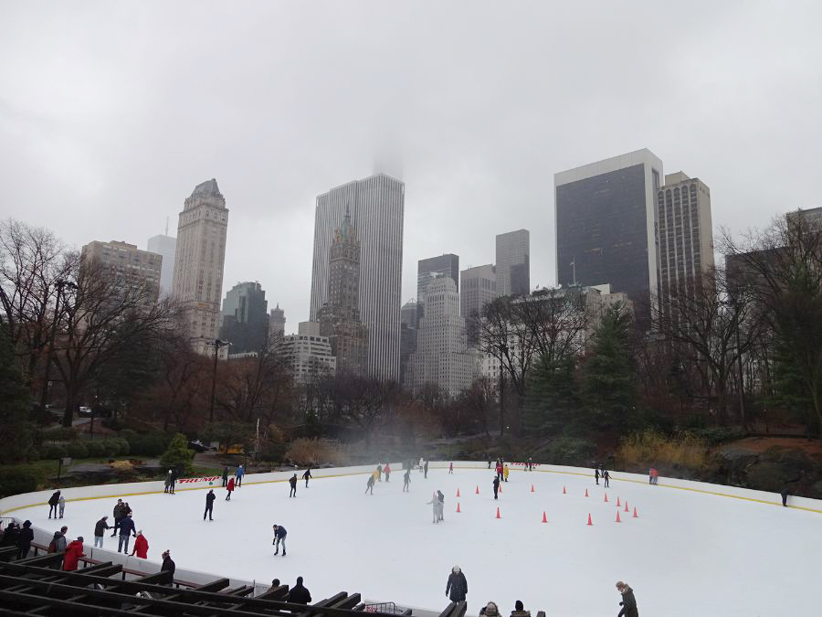 ice skating rink in NYC