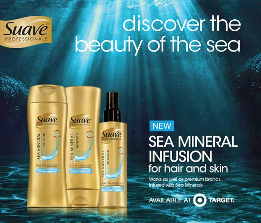 Suave sea mineral coupon