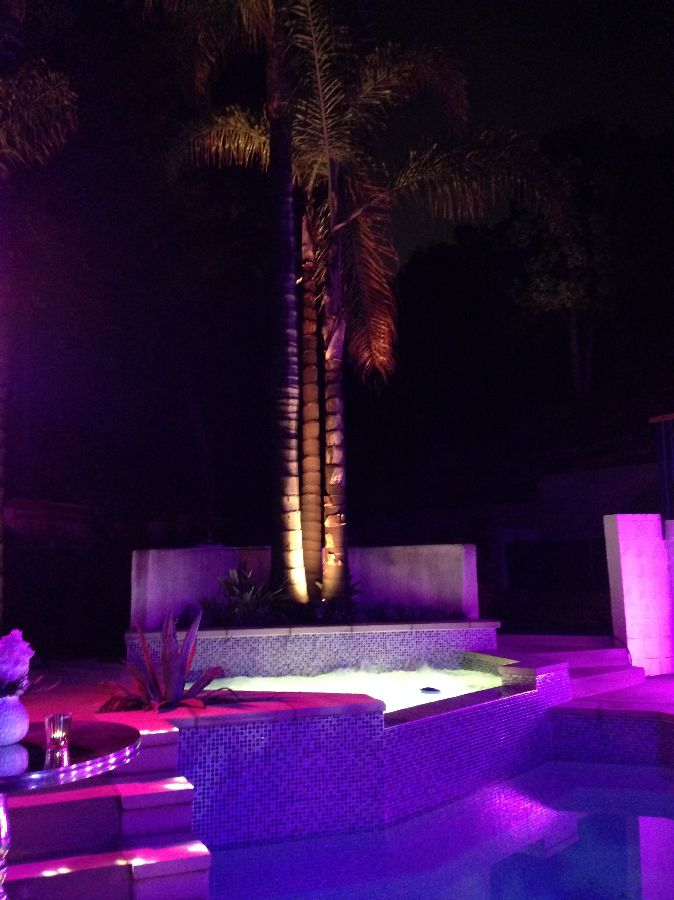 jacuzzi in hollywood hills