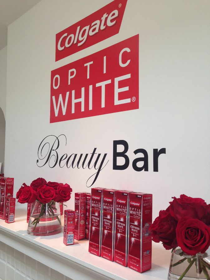 colgate white optic beauty bar